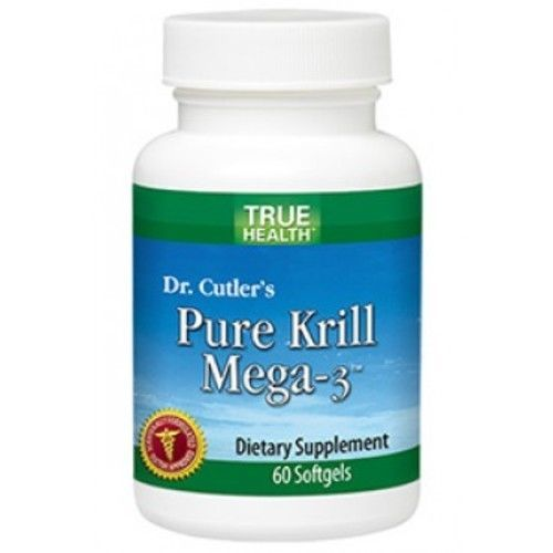 Pure Krill Mega-3 (60 softgels) by True Health