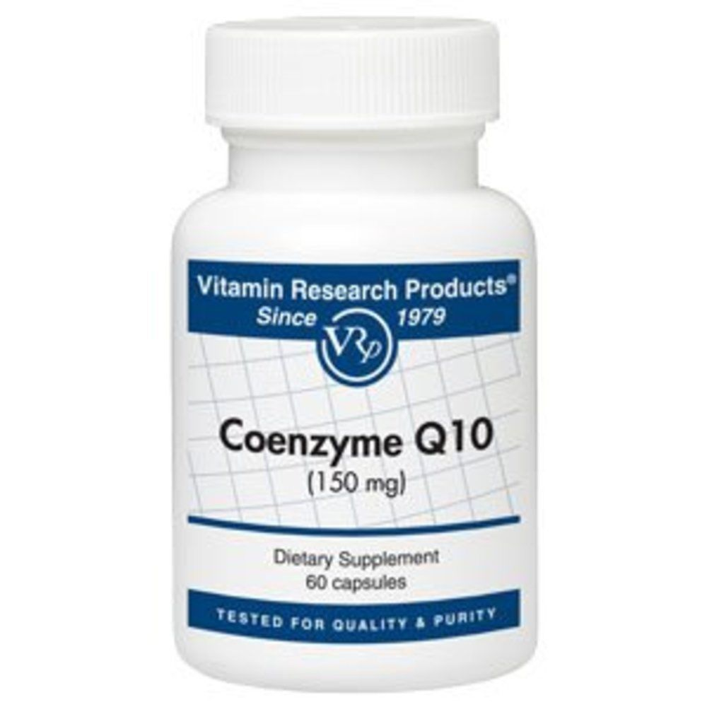 Coenzyme Q10 - 150 mg - 60 capsules by Vitamin Research Products