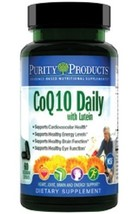 CoQ10 Daily with Lutein by Purity Products - 60 Vegetarian Capsules - $43.51