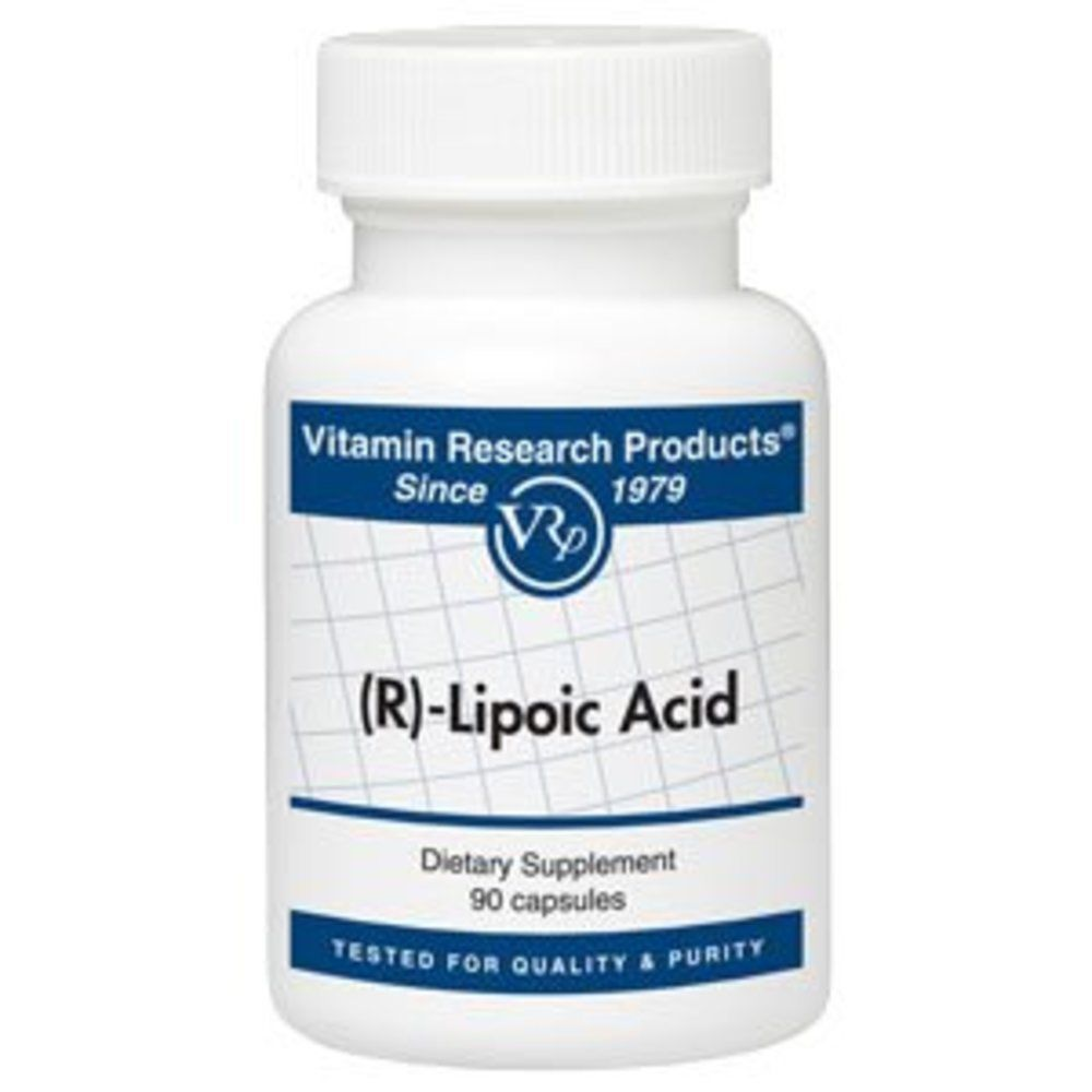 R-Lipoic Acid (50 mg, 90 Caps) by Vitamin Research Products