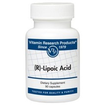 R-Lipoic Acid (50 mg, 90 Caps) by Vitamin Research Products - $28.59