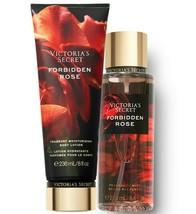 Victoria's Secret Forbidden Rose Fragrance Lotion + Fragrance Mist Duo Set - $39.95
