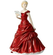 Royal Doulton Madeline Petite Traditional Figurine With Fan HN5513 New I... - $184.90
