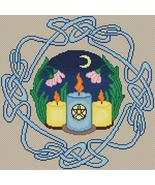 Summer Solstice cross stitch chart Artist's Alley  - $9.00