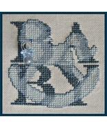 Baby Boy Shadow Words w/charm cross stitch chart Hinzeit - $10.80