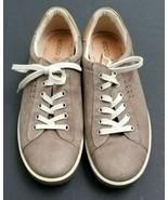 ECCO Chase II Leather Sneaker Tie Walking Shoe Womens Brown Tan Size 41 - $60.79