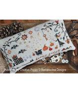 Hocus Pocus cross stitch chart Barbara Ana Designs - $9.00