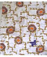Bozkurt Cotton Blend? VOILE FABRIC~Floral Graph... - $29.69
