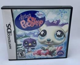 Littlest Pet Shop Winter Hiver Nintendo DS Game 2008 - $4.99