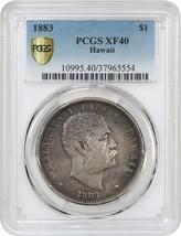 1883 Hawaii $1 PCGS XF40 - Hawaii Territory Coinage - $630.50