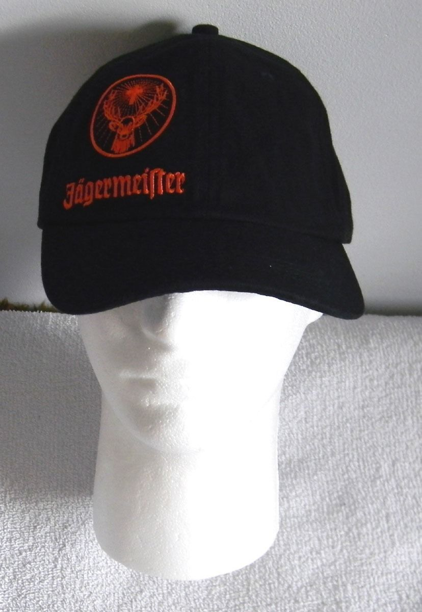 New Jagermeister Mens Baseball Hat Black and 50 similar items 0301a6f9d629