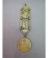 VTG Antique Egypitan Revival Pocket Watch Fob C... - $79.18