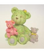 Teddy Bear Trio Resin Figurine Mom and Babies #300-10135 - $31.18
