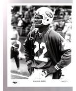 N.Y. Jets 1975 Football Team #22 Burgess Owens - $2.75