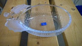 Studio Nova Japan Oval Bowl with Frosted Holly Leaves and Berries - $10.00