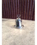 REED AND  BARTON 1981 SILVER PLATED BELL ENGRAVED EXCELLENT CONDITION - $12.00