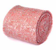 Frederick Thomas Pink Paisley Krawatte Krawatten ft1869