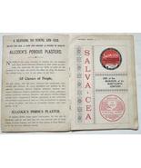 Allcock Plaster antique vintage advertising book of puzzles 1890 ephemera  - $9.00