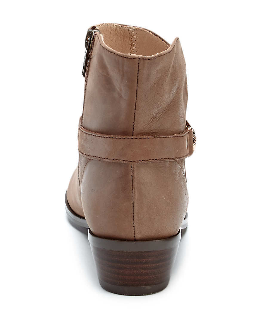 "Klub Nico ""Zina"" Brown Leather Bootie Size 7 NWB $235"