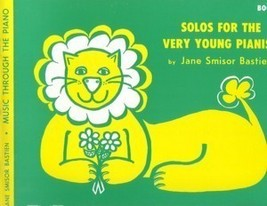 Bastien Solos For The Very Young Pianist Book 1 - $2.45