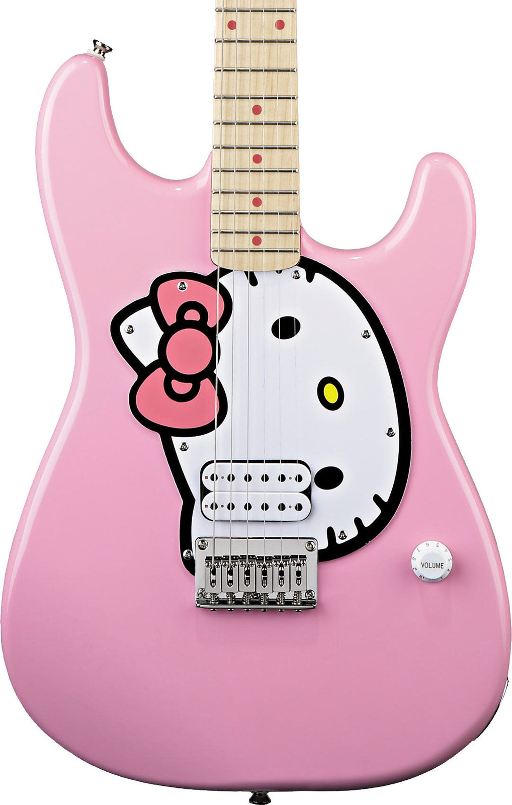 Fishbone Guitar  Pink Hello Kitty