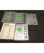 2003 Honda Accord V6 V-6 Service Shop Repair Manual Set W Supplement + E... - $197.99