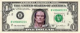 GUL DUKAT Star Trek on REAL Dollar Bill Collectible Celebrity Cash Money... - $5.55