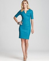DIANE von FURSTENBERG AURORA INDIAN TEAL DRESS - US 12 - UK 16 - $170.14