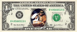 MANGER & BABY JESUS on REAL Dollar Bill Collectible Celebrity Cash Money... - $5.55