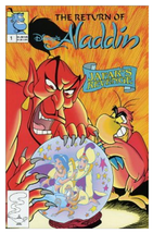 1993 Disney Return of Aladdin #1 Jafar's Revenge ~ Marvel VF/NM Condition - $2.95