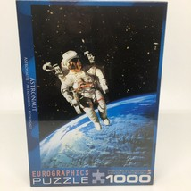 "New - Astronaut - Eurographics Puzzle 1000 Pieces Jigsaw 19 1/4"" x 26 5/8"" - $26.17"