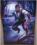 The Wolfman Glossy Print 11 x 17 In Hard Plastic Sleeve - $24.99