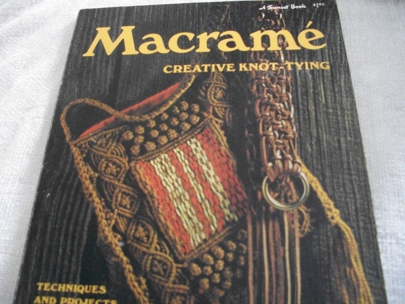 Primary image for Macrame Creative Knot-Tying Book