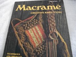 Macrame Creative Knot-Tying Book - $12.00