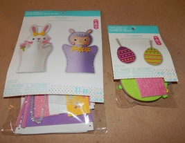Easter Foam Puppet Kit & Foam Craft Kit Celebrate It 48pc & 37pc eggs/bu... - $5.49