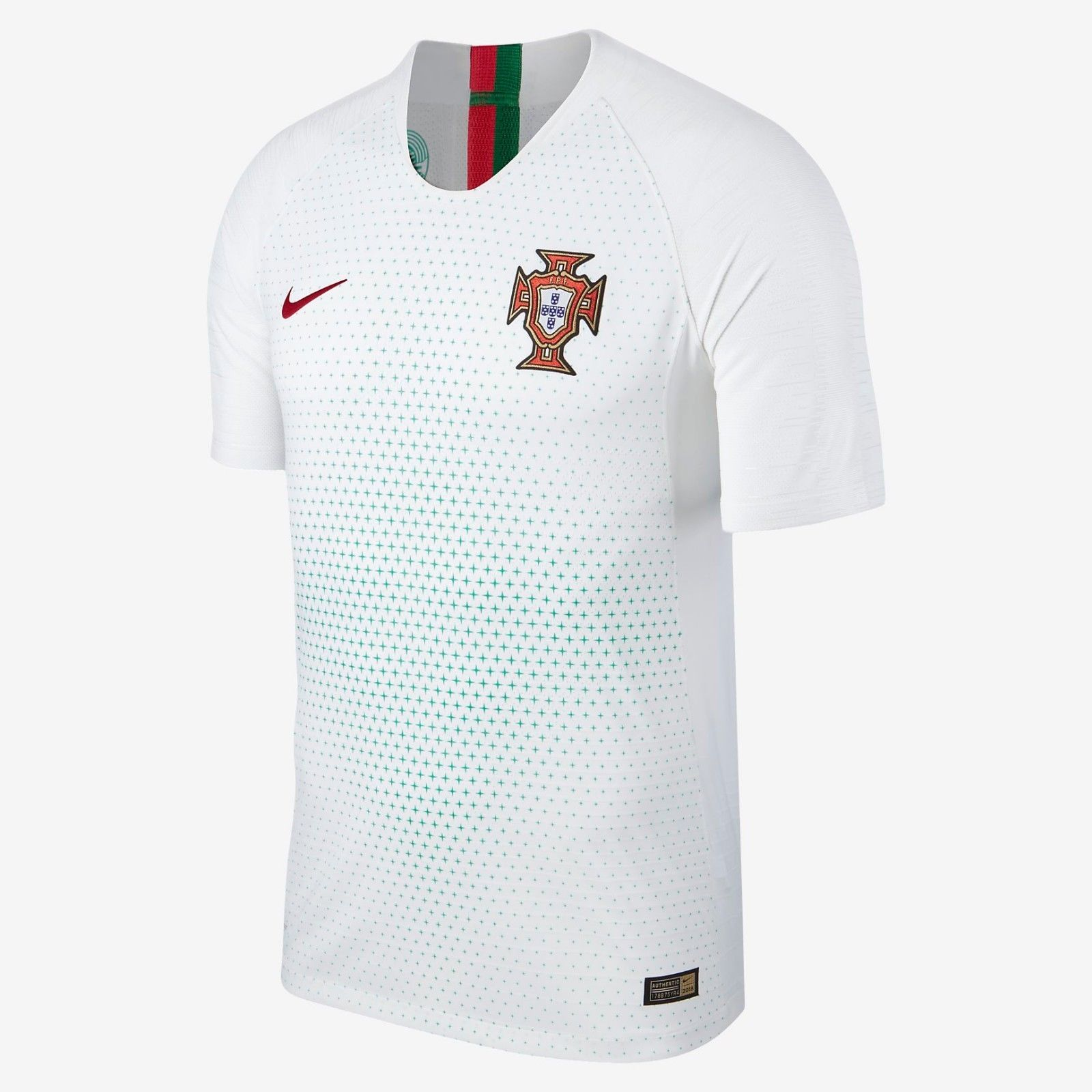 NIKE C. RONALDO PORTUGAL VAPOR MATCH AUTHENTIC AWAY JERSEY FIFA WORLD CUP  2018. 534970f9fda39