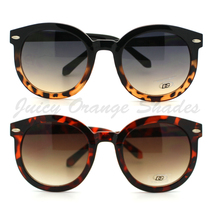 CIRCLE ROUND Sunglasses Womens HOT CELEBRITY Fashion CUTE CHIC Style SHADES - $7.95