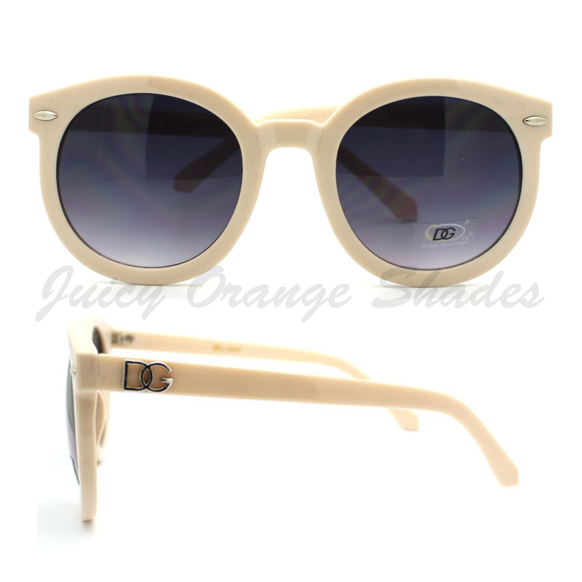 CIRCLE ROUND Sunglasses Womens HOT CELEBRITY Fashion CUTE CHIC Style SHADES