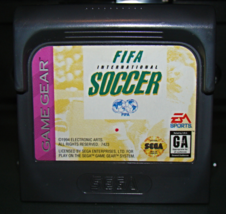 SEGA GAME GEAR - FIFA INTERNATIONAL SOCCER (Game Only) - $5.50