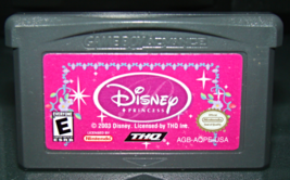 Nintendo Game Boy Advance   Thq   Disney Princess (Game Only) - $5.00