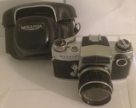Miranda Sensorex, SLR Camera.  Version C, Chrom... - $95.00