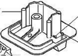 Husqvarna Filter Holder 501899002 fits 3120 3120xp chainsaw - $47.99