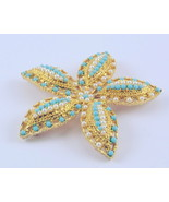 Vintage Sarah Coventry Ocean Star brooch pin ea... - $45.00