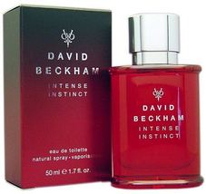 David Beckham Intense Instinct EDT Spray 50ml. Coty Fragrance Perfume Cologne  - $69.99