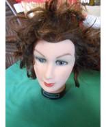 """Burmax"" MANNEQUIN Woman Head Cosmetology Display Human Hair... DEBRA MA... - $17.41"