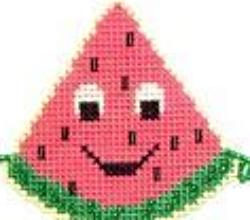 Watermelon Buddy Kit cross stitch kit Flowers 2 Flowers