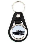 1959 Chevrolet Apache Pickup Truck Richard Browne keychain key fob - Black - $7.50