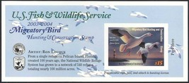 RW66A, DUCK STAMP SELF-ADHESIVE PANE - PRICED TO SELL QUICKLY - $23.00