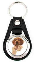 Cocker Spaniel Puppy Artwork Keychain Key Fob - $7.50
