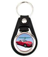11th Generation Ford Thunderbird hardtop Artwork key fob - Red White 7 S... - $7.50